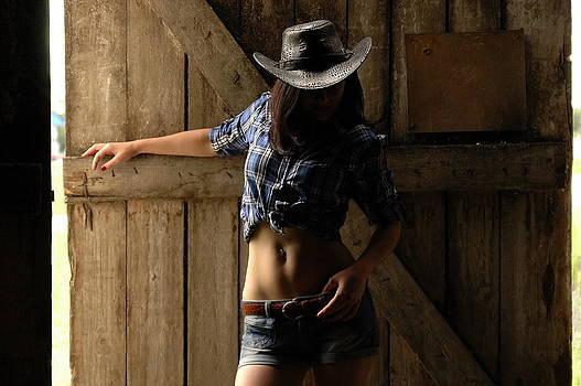 Cowboy's girlfriend by Tatyana Primak