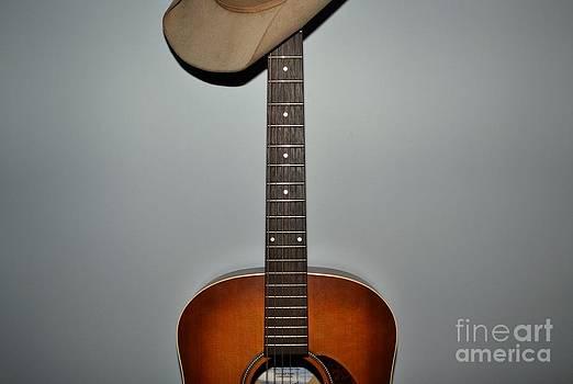 Cowboy's Guitar by Arthur Hofer