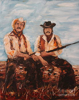 Cowboys out to Play by Lee Ann Newsom