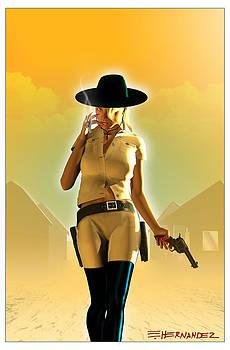Cowgirl #2 by Ed Hernandez