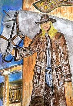 Cowgirl by Igor Kotnik