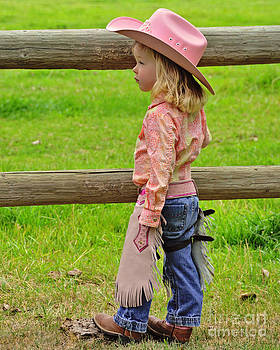 Cowgirl in Pink by Susie Fisher