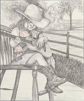 Cowgirl Melody by Beverly Marshall