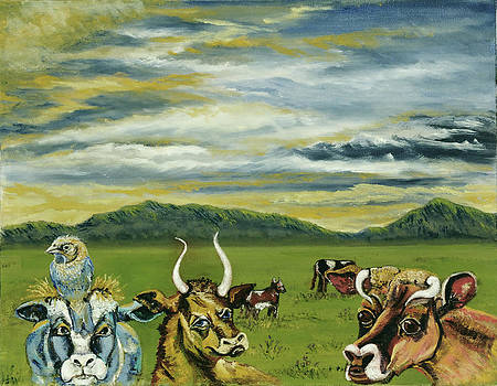 Cows of a Different Color by Susan Culver