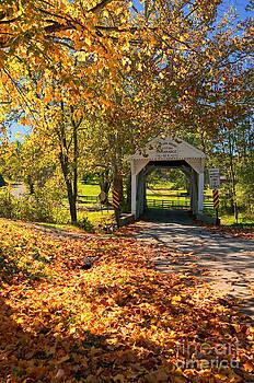 Kathleen K Parker - Cox Farm Covered Bridge - Pennsylvania