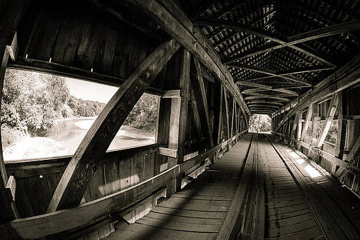 Cox Ford Covered Bridge by Jackie Novak