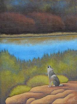 Coyote Howl by Gayle Faucette Wisbon