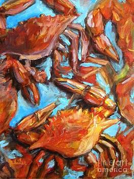 Crab Pile by JoAnn Wheeler