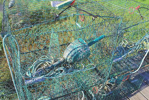 Crabbing baskets by Renee Braun