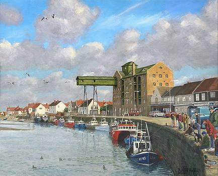 Crabbing - Wells-next-the-Sea Norfolk by Richard Harpum
