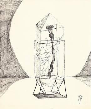 Cracked... Sketch by Robert Meszaros
