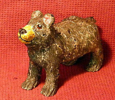 Crackle Bear by Debbie Limoli