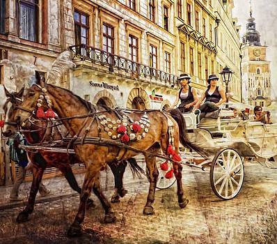 Justyna Jaszke JBJart - Cracow Grodzka Street