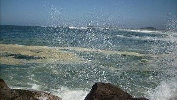 Crashing into Rocks by Misty Ann Brewer