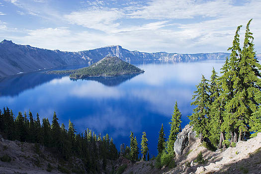 Crater Lake 2 by Spencer Bodian
