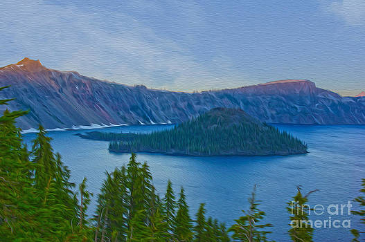 Crater Lake by Nur Roy