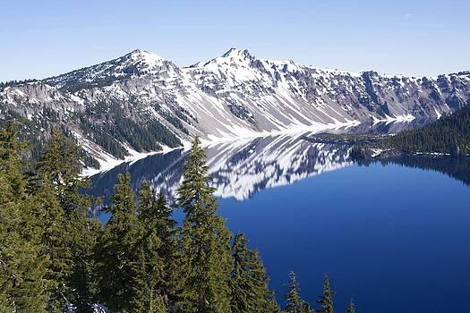 Veronica Vandenburg - Crater Lake Reflection