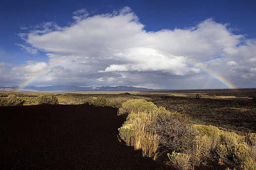 Craters of the Moon Rainbow by Paul W Sharpe Aka Wizard of Wonders