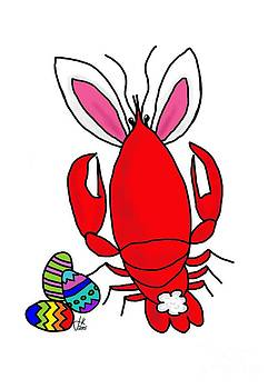 Julie Knapp - Crawfish Easter Bunny 20150223