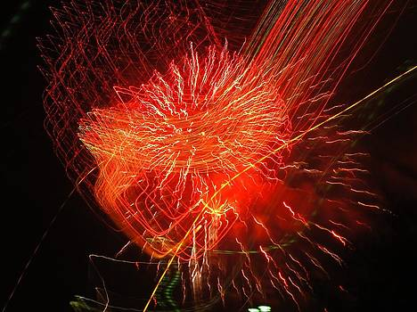 Crazy Fireworks by Jean Sproul