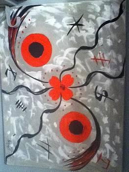 crazy Flowers by Mary Logan jozefik