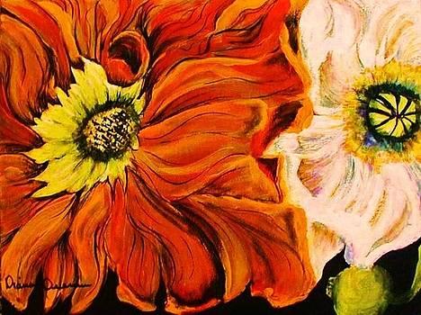 Crazy Poppies by Diana Dearen
