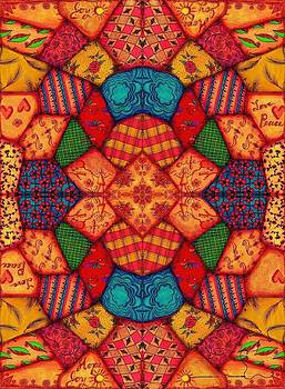 Crazy Quilt by Jenny Sorge
