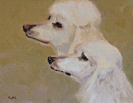 Cream Poodles by Karen McLain