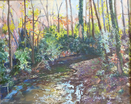 Creek Bed by Gloria Smith