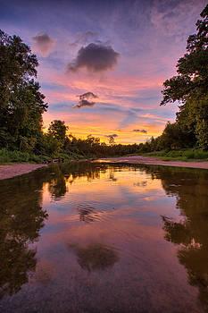 Creek Glow by Chris Multop