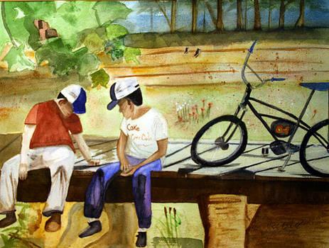 Creekin' by Randy Bell