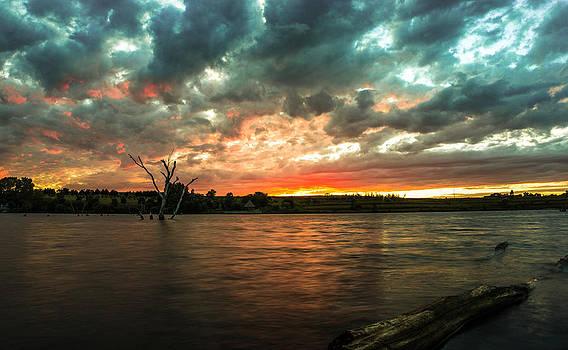 Creekly Sunset by Joseph Mills