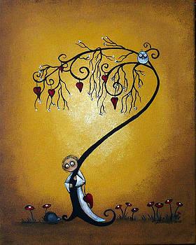 Creeper Art - Hide and Seek by Charlene Murray Zatloukal