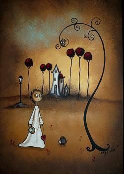 Creeper Art - Where The Heart Is by Charlene Murray Zatloukal
