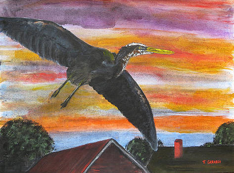 Crepuscular Flight by Anthony Gerardi