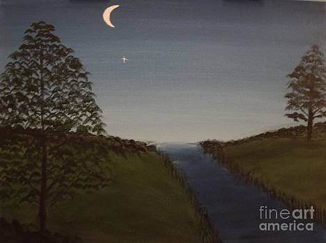 Crescent Moon by Michelle Treanor