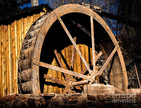 Jon Burch Photography - Old Building and Water Wheel