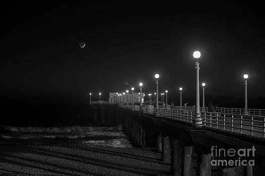 Crescent Moon by Shishir Sathe