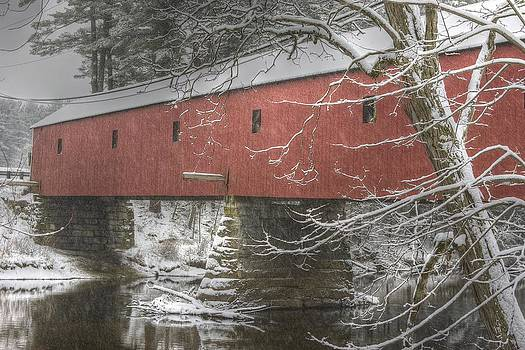 Cresson Bridge  NH by Gail Maloney