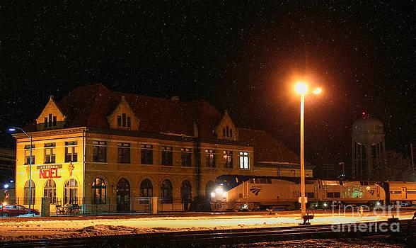 Creston Depot by Thomas Danilovich