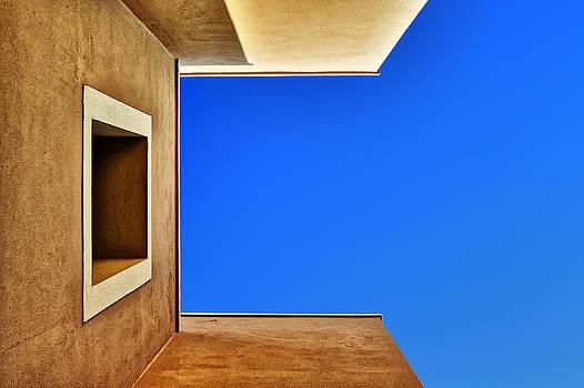 Cretan Architecture IX by Martin Wackenhut