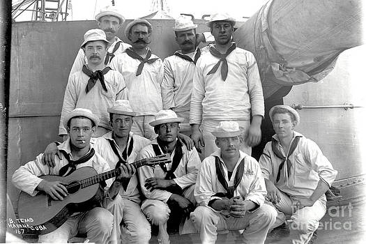 California Views Mr Pat Hathaway Archives - Crew of the battleship  Texas Havana Cuba 1898