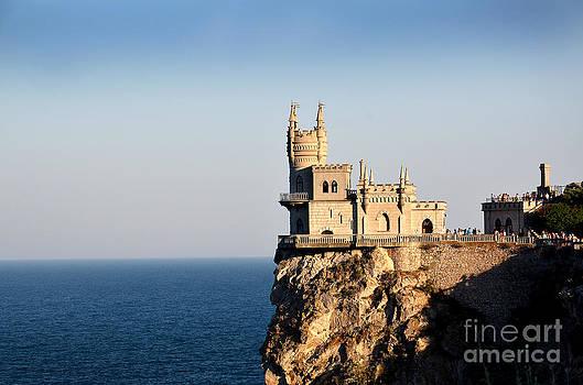 Crimea Yalta  Lastochkino Gnezdo by Leonid Nozdrachov