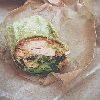 Crispy Mustard Chicken Wrap... #delish by Priscilla Vecchio