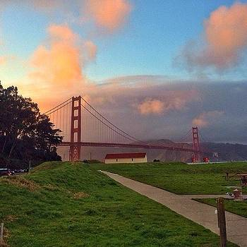 Crissy Field Sunset by Karen Winokan