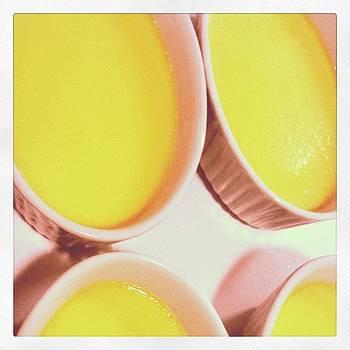 Crème Brûlée Cooling. #custard by Zarah Delrosario
