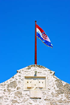 Croatian flag by Borislav Marinic