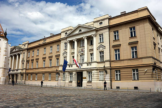 Croatian Parliament  by Borislav Marinic