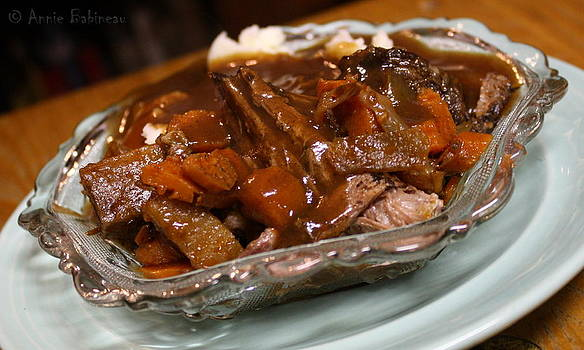 Crock Pot Pot Roast by Annie Babineau