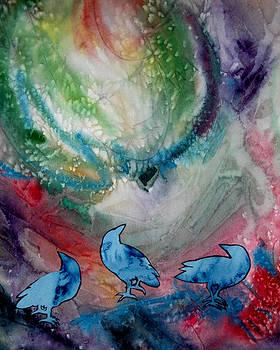 Crow Series 5 by Helen Klebesadel